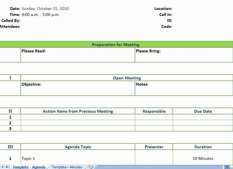 Meeting Minute Template Excel Elegant Meeting Planner Template Excel