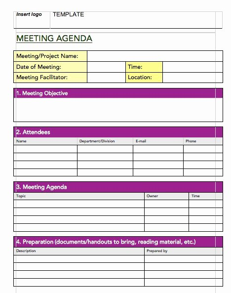 Meeting Minute Template Excel Inspirational 20 Handy Meeting Minutes & Notes Templates Free Template