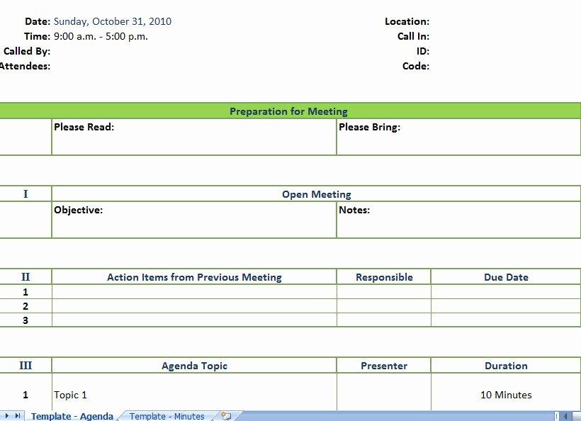 Meeting Minutes Template Excel Elegant Meeting Planner Template Excel