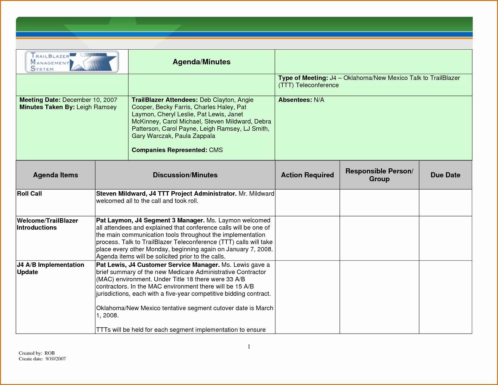 Meeting Minutes Template Excel Luxury 12 Meeting Minutes Template Excel