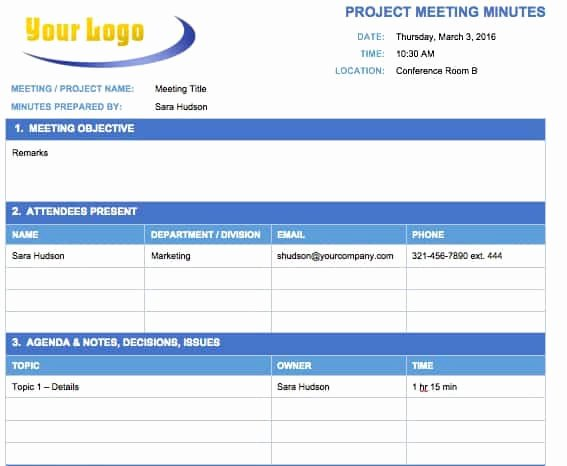 Meeting Notes Template Free Elegant Free Meeting Minutes Templates Instructions