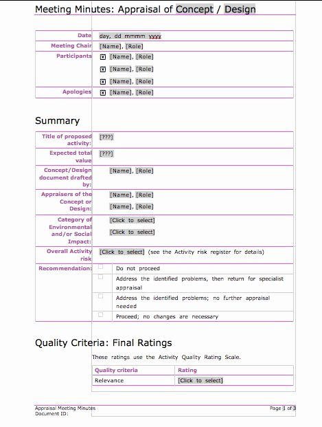 Meeting Notes Template Free Lovely 20 Handy Meeting Minutes & Meeting Notes Templates