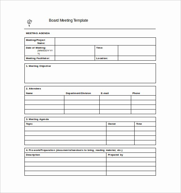 Meeting Notes Template Free Lovely Meeting Notes Template