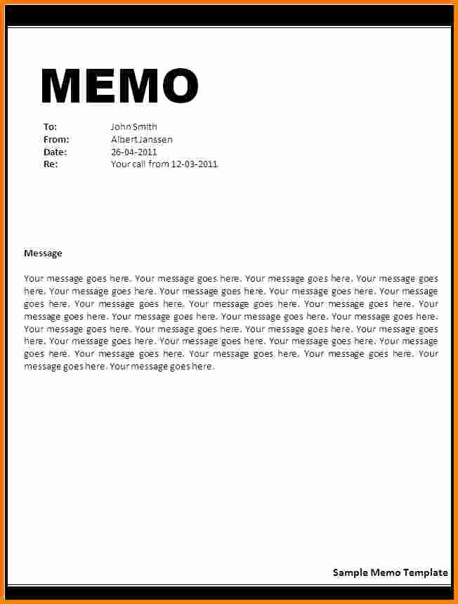 Memo Template for Word Fresh Print Small Business Invoices