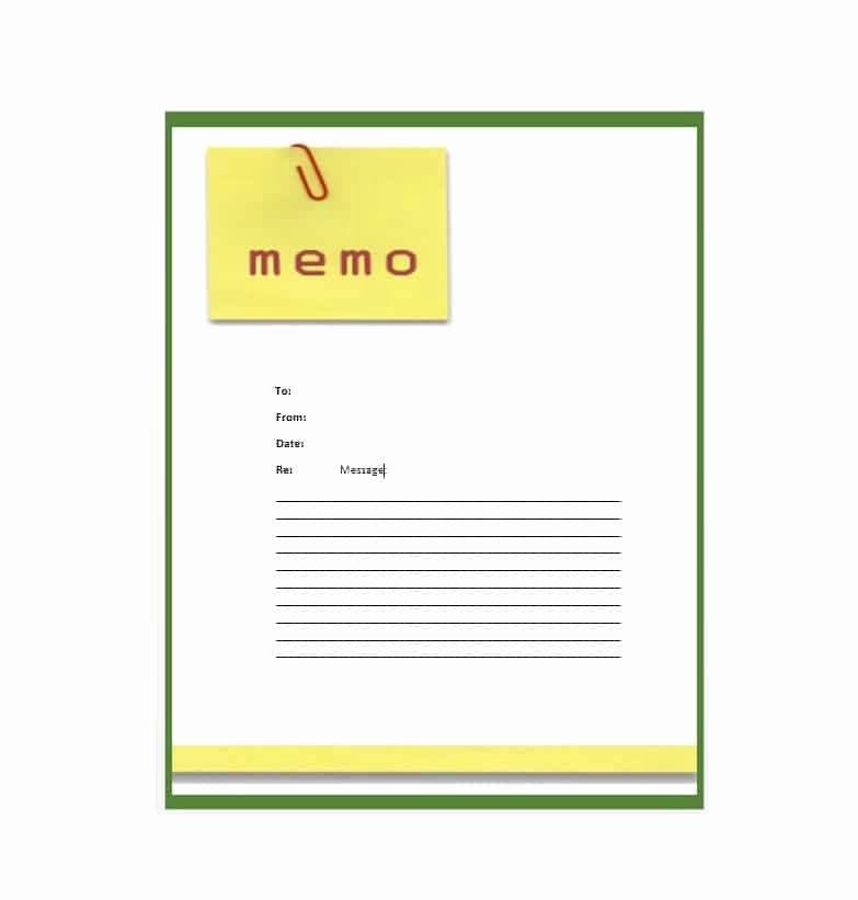 Memo Template for Word Unique Business Memo Templates 40 Memo format Samples In Word