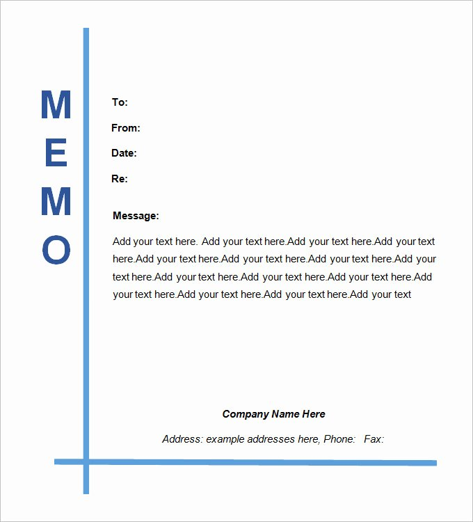 Memorandum Templates for Word Fresh Legal Memo Template 13 Word Excel Pdf Documents