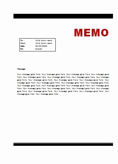 Memorandum Templates for Word Lovely Memo Template Fice Work
