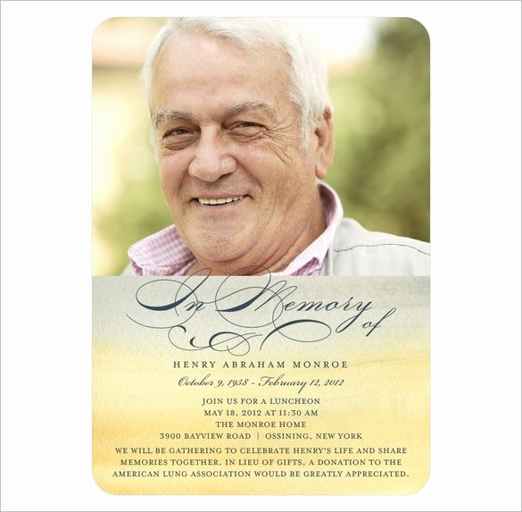 Memorial Cards Templates Free Luxury 21 Obituary Card Templates – Free Printable Word Excel