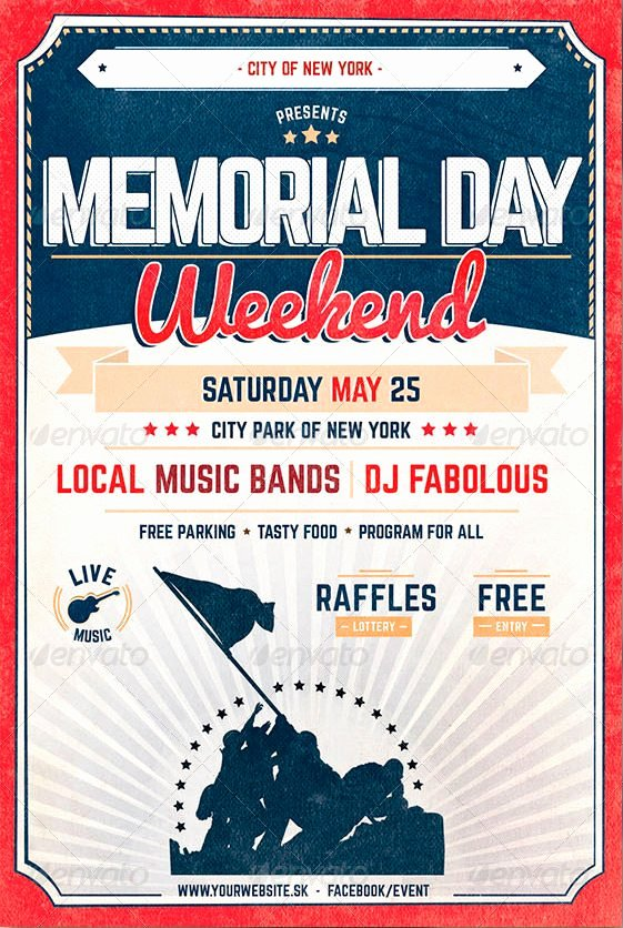 Memorial Day Flyer Template Free Awesome Flyer Template Memorial Day Flyer Template Memorial Day Flyer