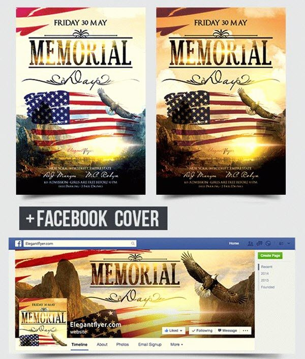 Memorial Day Flyer Template Free Lovely 20 Memorial Day Free and Premium Psd Flyer Print Templates