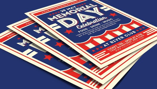 Memorial Day Flyer Template Free Luxury 21 Memorial Day Flyer Free Psd Eps Illustrator format