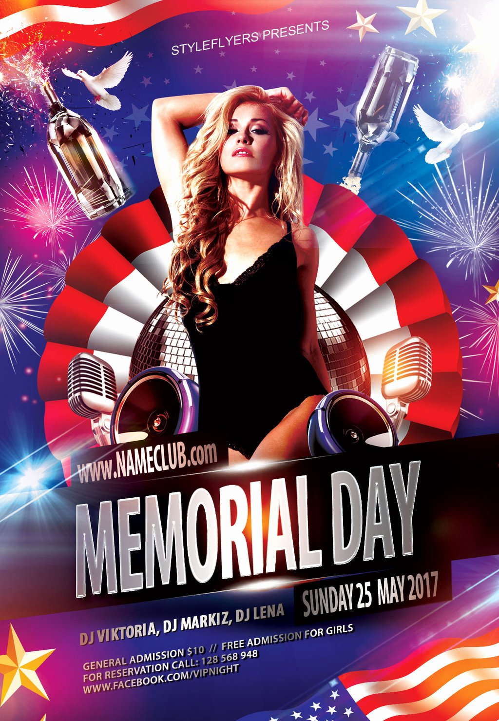 Memorial Day Flyer Template Free New Memorial Day Flyer by Styleflyers On Deviantart