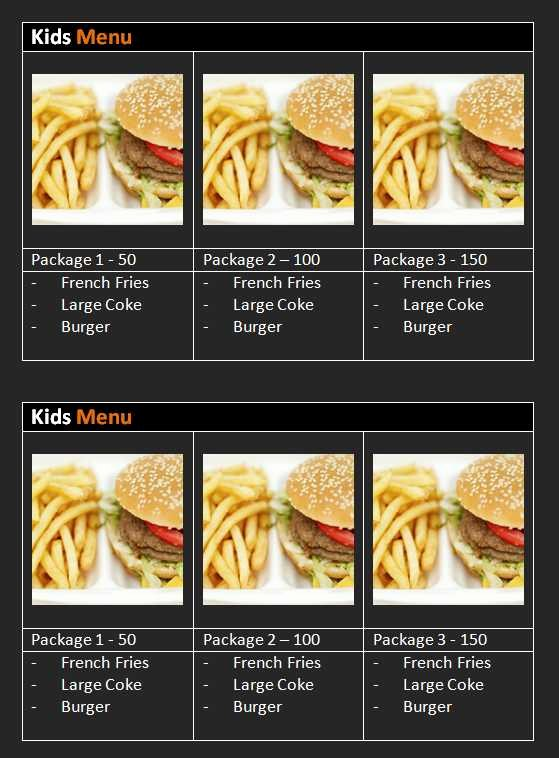 Menu Template Free Word Fresh 15 Free Restaurant and Cafe Menu Templates for Word