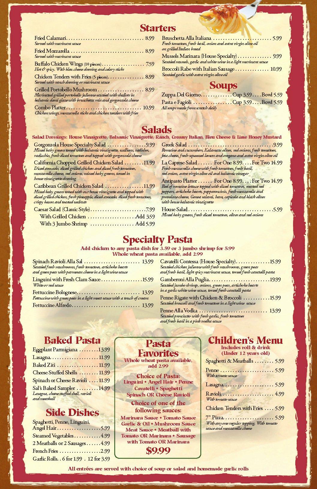 Menu Template Free Word New Restaurant Menu Templates