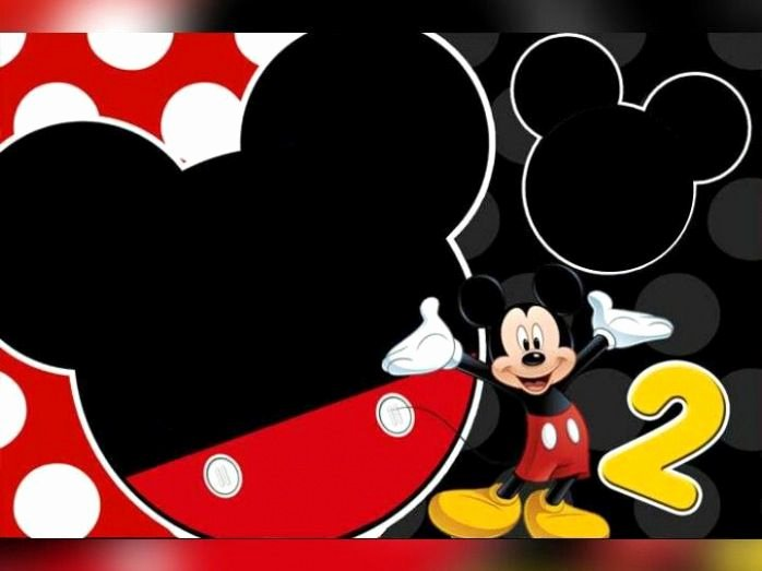 Mickey Mouse Invitations Templates Beautiful Download Free Mickey Mouse 2nd Birthday Invitation