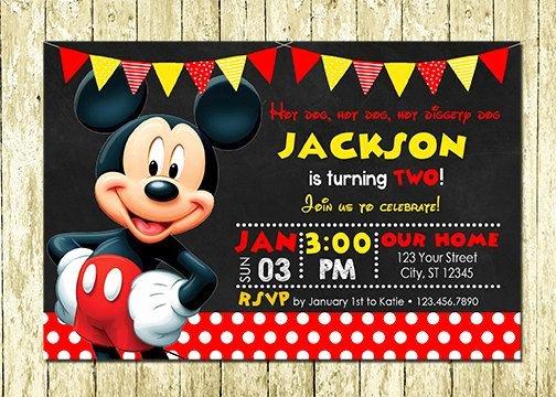 Mickey Mouse Invitations Templates Lovely Ninja Warrior Invitations Printed or Digital Printable Diy