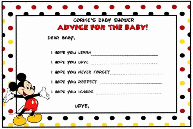 Mickey Mouse Invitations Templates New Mickey Mouse Templates for Invitations