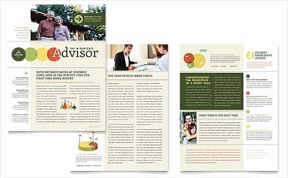 Microsoft Publisher Newspaper Templates Lovely 40 Word Newsletter Template Psd Pdf Doc