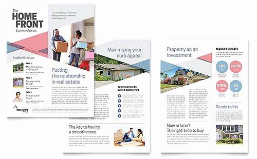 Microsoft Publisher Newspaper Templates Luxury Newsletter Templates Microsoft Word & Publisher Templates