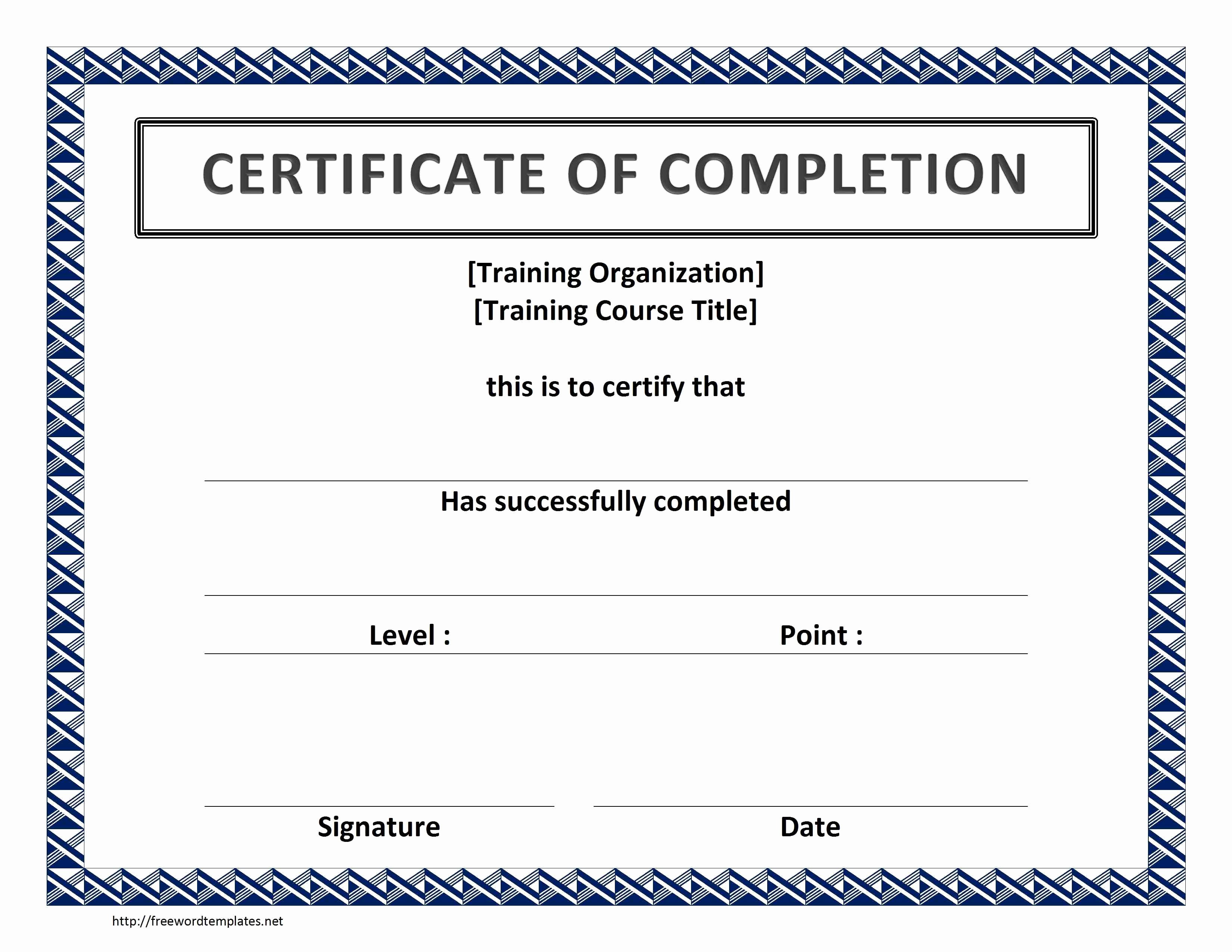 Microsoft Word Certificate Template Awesome Word Certificate Template