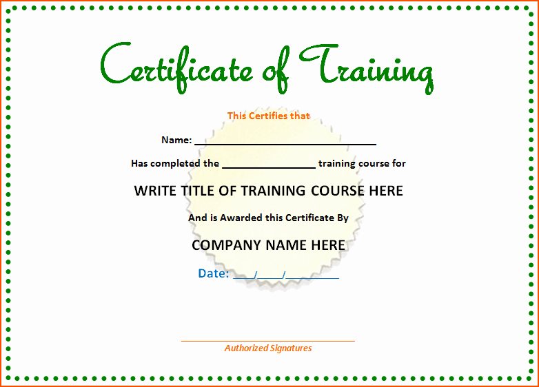 Microsoft Word Certificate Template New 8 Microsoft Office Certificate Template Bookletemplate