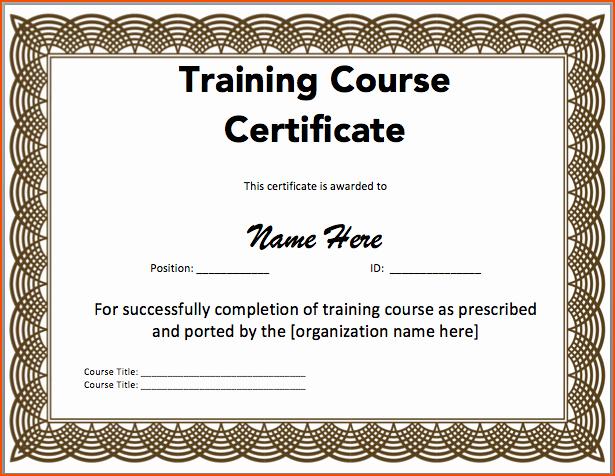 Microsoft Word Certificate Template Unique 7 Microsoft Word Certificate Template Bookletemplate