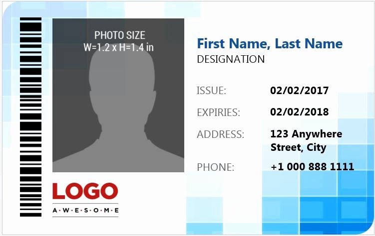 Microsoft Word Id Card Template Elegant Ms Word Id Badge Sample Template