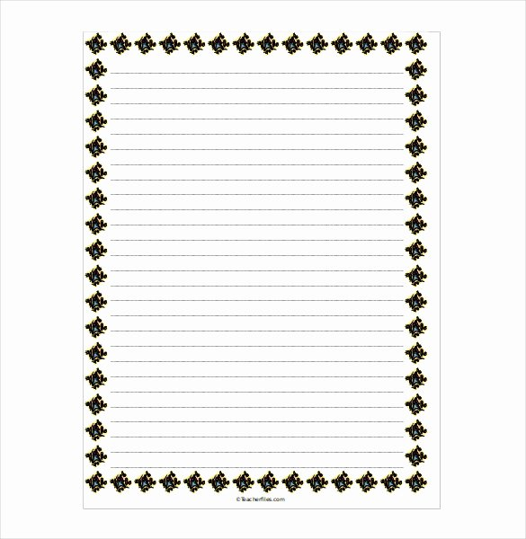 Microsoft Word Lined Paper Template Fresh Notebook Paper Template for Word Clipart Best