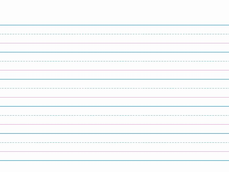 Microsoft Word Lined Paper Template Fresh Wide Ruled Lined Paper Template for Kids