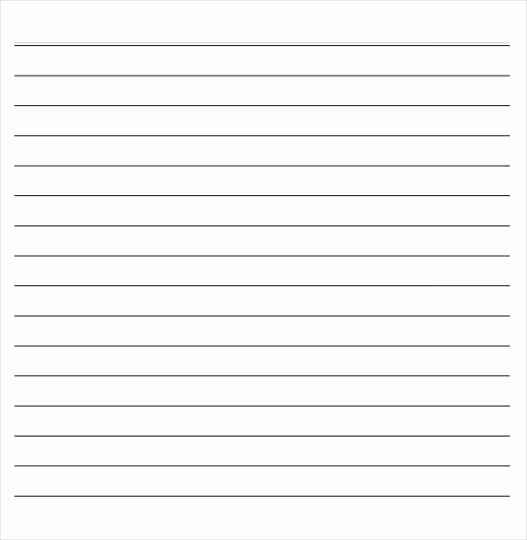 Microsoft Word Lined Paper Template Unique Lined Paper Template Word – Free Download