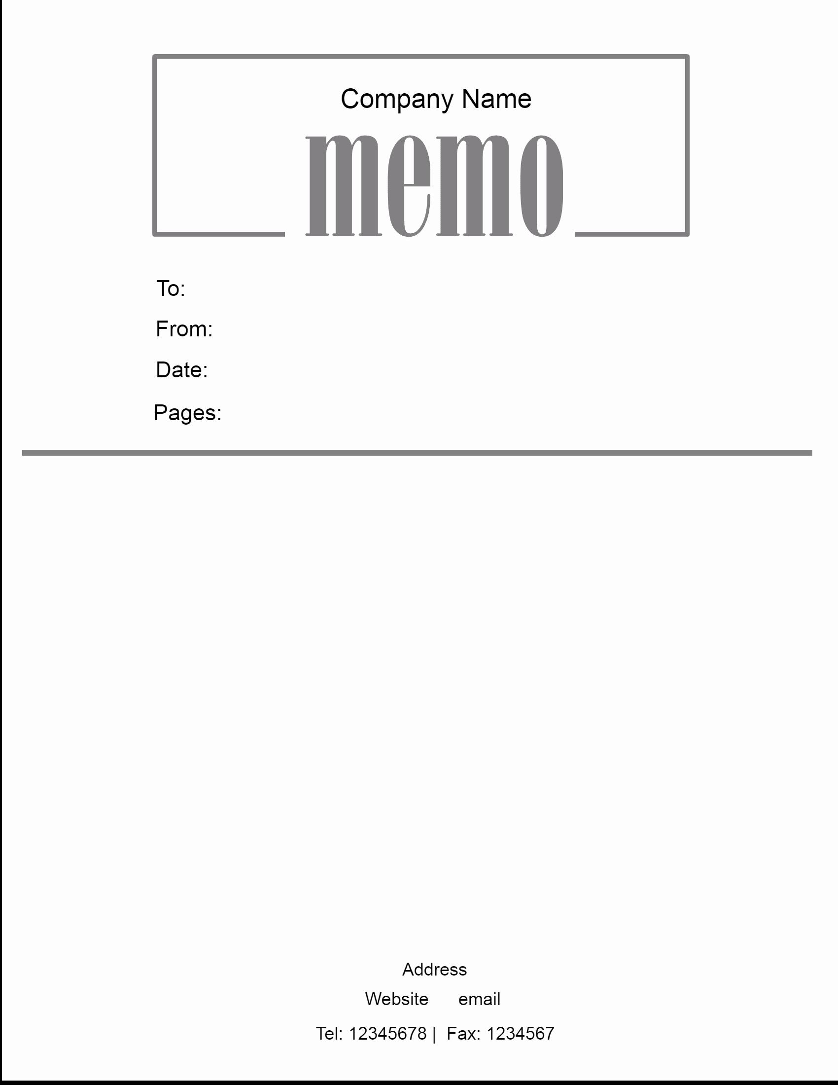 Microsoft Word Memo Template Elegant Free Microsoft Word Memo Template