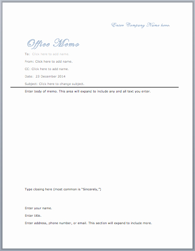 Microsoft Word Memo Template Fresh Fice Memo Template – Microsoft Word Templates