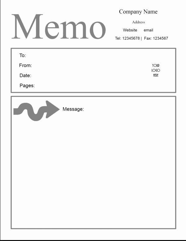 Microsoft Word Memo Template Inspirational Free Microsoft Word Memo Template