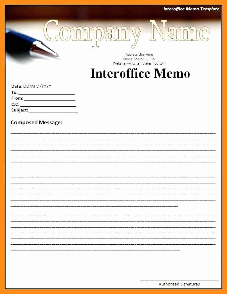 Microsoft Word Memo Template Luxury 12 13 Microsoft Office Memo Templates