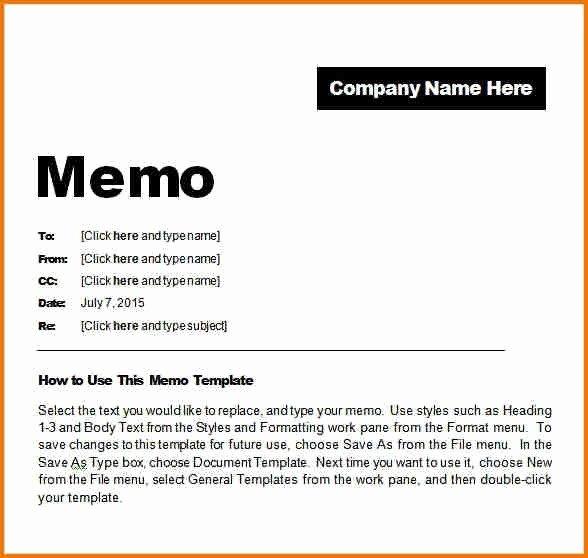 Microsoft Word Memo Templates Elegant Memo Templates Microsoft Word Template – Targer Golden