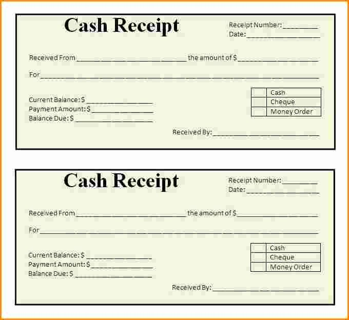 Money order Receipt Template Best Of 9 Receipt Examples