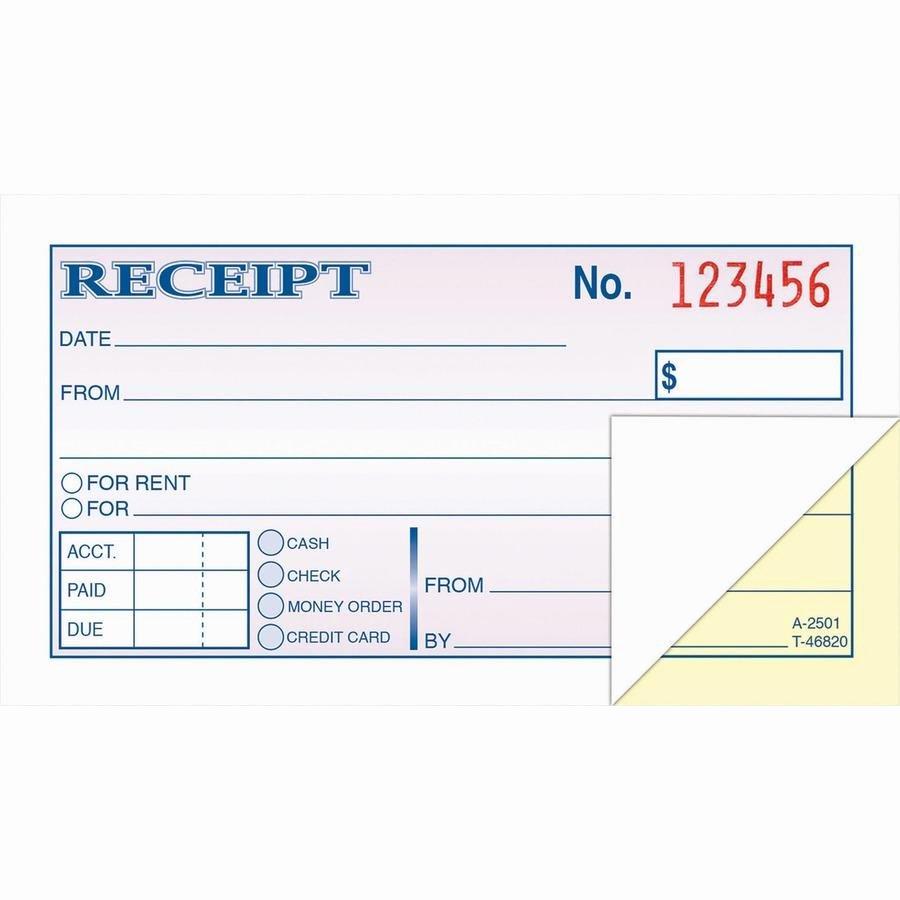 Money order Receipt Template Best Of wholesale Adams Money Rent Receipt Books Abfdc2501