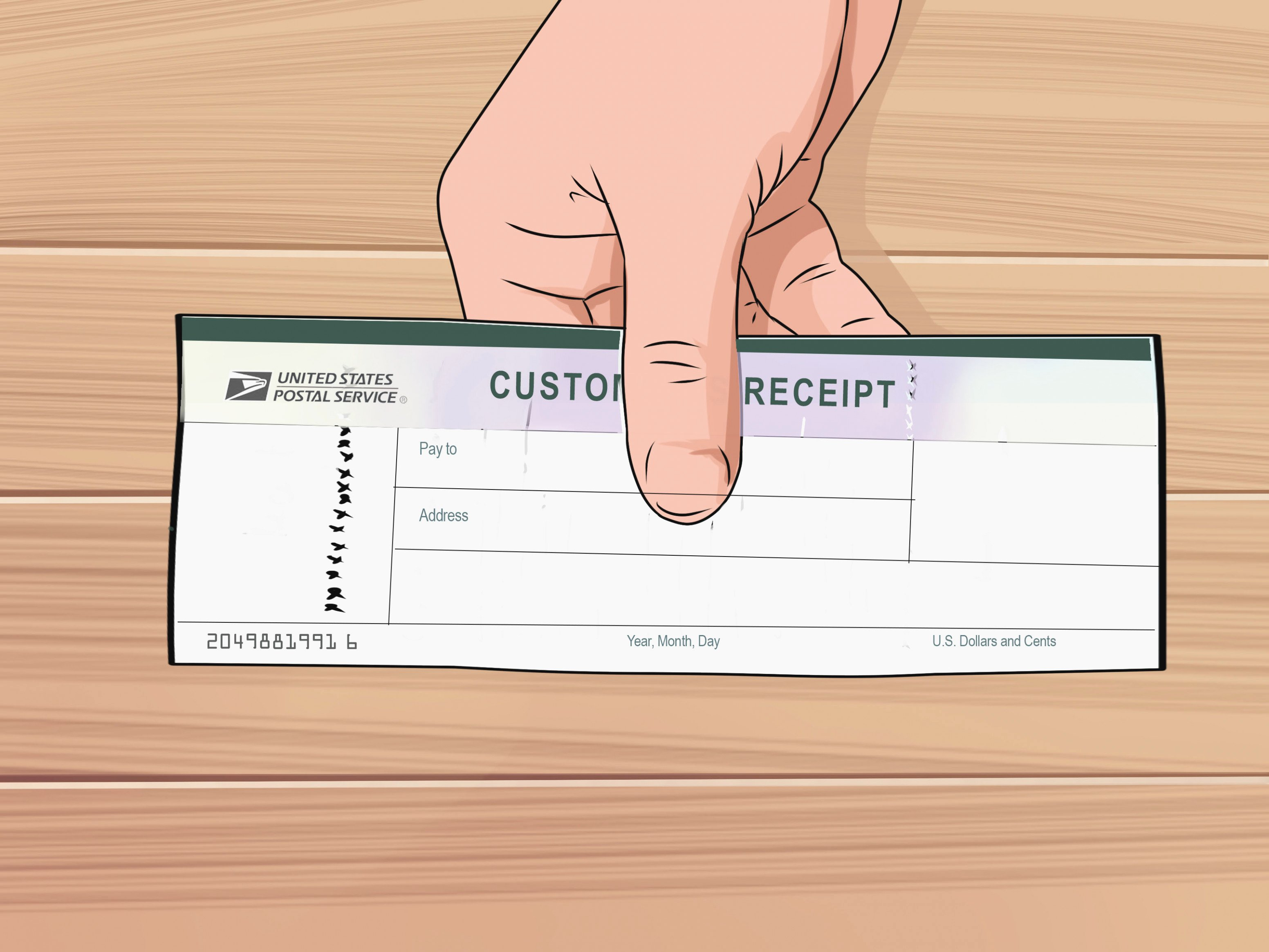 Money order Receipt Template Elegant How to Fill Out A Money