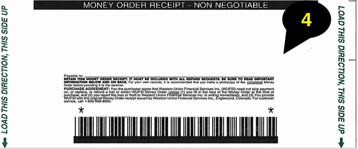 Money order Receipt Template Luxury How to Fill Out A Money order