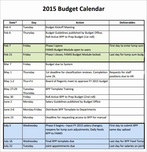 Monthly Budget Calendar Template Best Of Free 7 Sample Bud Calendars In Google Docs