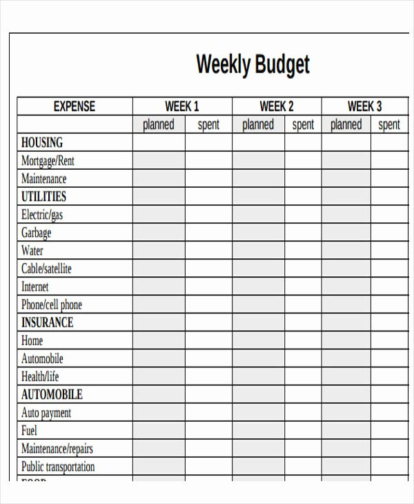 Monthly Budget Calendar Template Elegant 11 Sample Bud Calendar Templates Word Pages