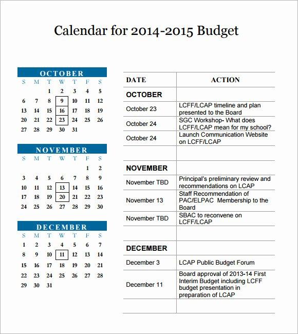 Monthly Budget Calendar Template Elegant 3 Month Calendar Template