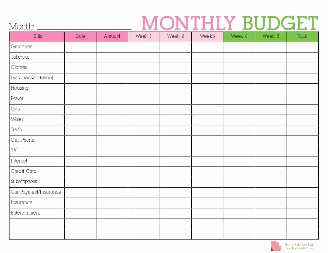 Monthly Budget Calendar Template Inspirational Keep Track Of Your Monthly Expenditures with This Free