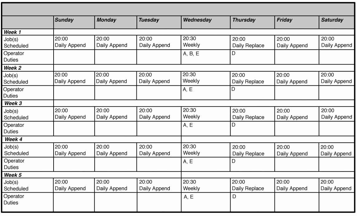 Monthly Employee Schedule Template Awesome Monthly Employee Schedule Template Excel