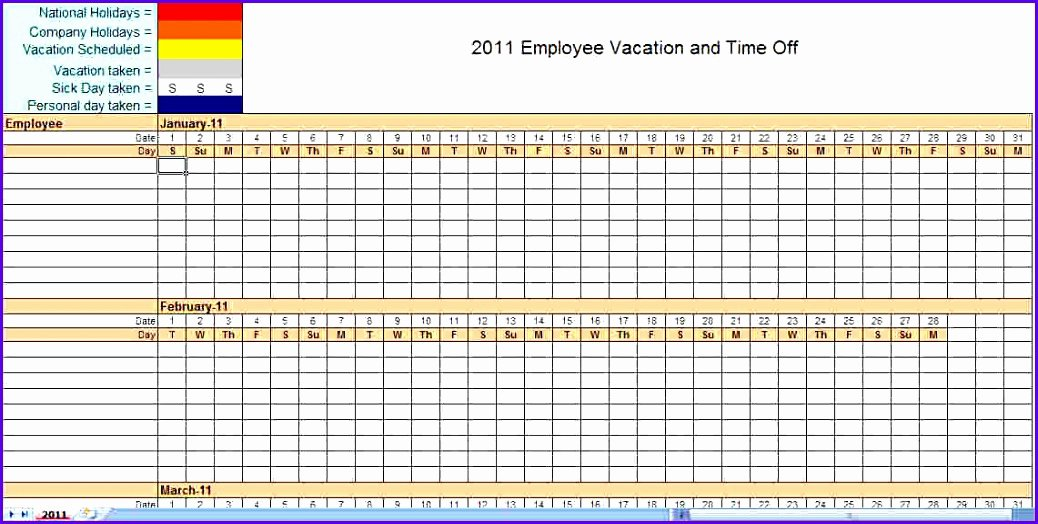 Monthly Staff Schedule Template Beautiful 12 Schedule Template for Excel Exceltemplates