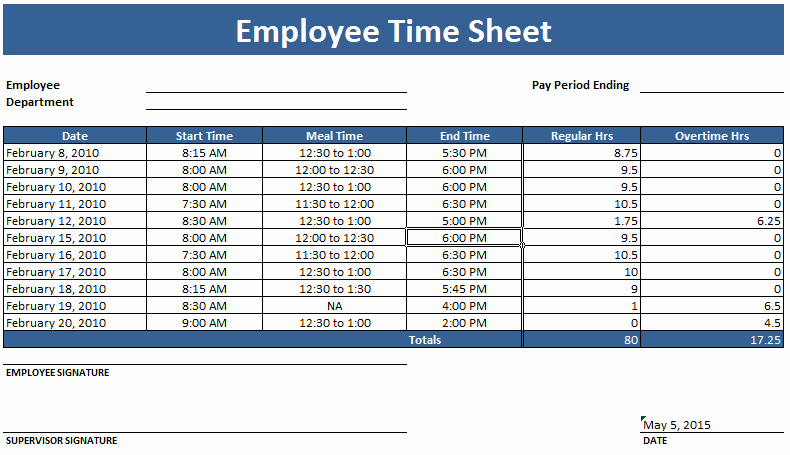 Monthly Timesheet Template Excel Beautiful Employee Timesheet Template Weekly and Monthly