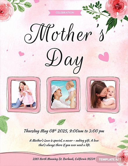 Mother Day Flyer Template Free Awesome 681 Free Flyer Templates Download Ready Made