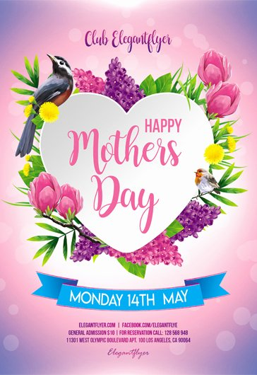 Mother Day Flyer Template Free Elegant Premium Psd Flyer Templates
