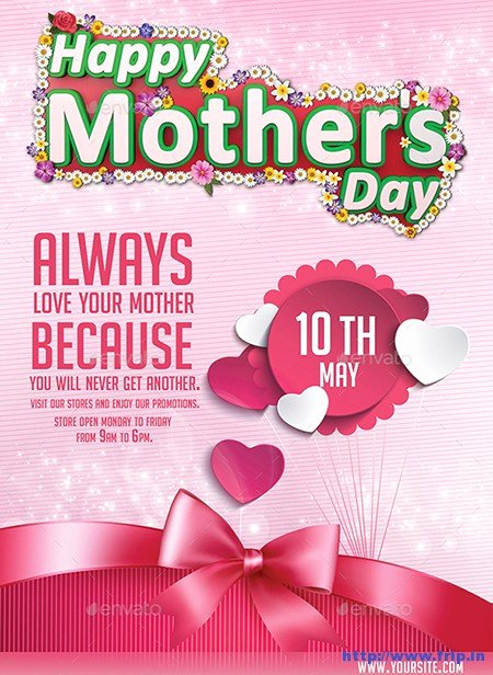 Mother Day Flyer Template Free Fresh 35 Best Mother's Day Flyer Print Templates 2019