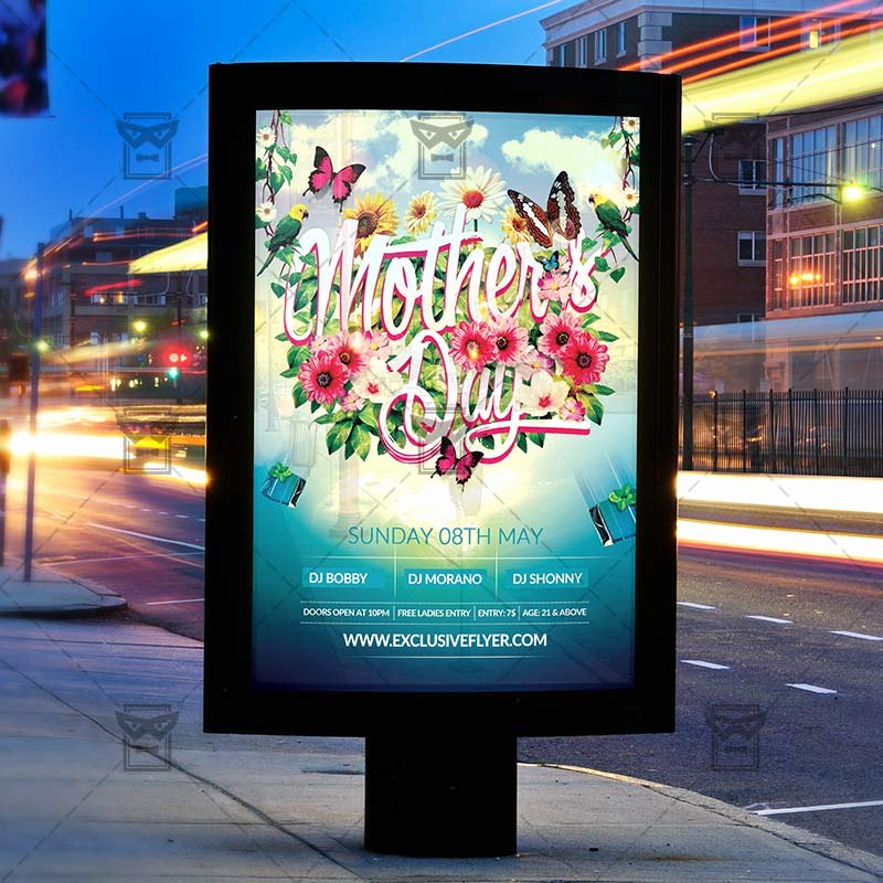 Mother Day Flyer Template Free Fresh Mother's Day – Premium Flyer Template Cover